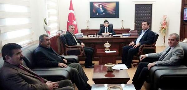 Balışeyh'te encümen toplantısı