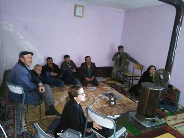 Çiftçilere eğitim