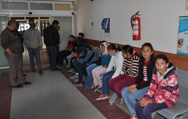 Öğrenciler çağladan zehirlendi