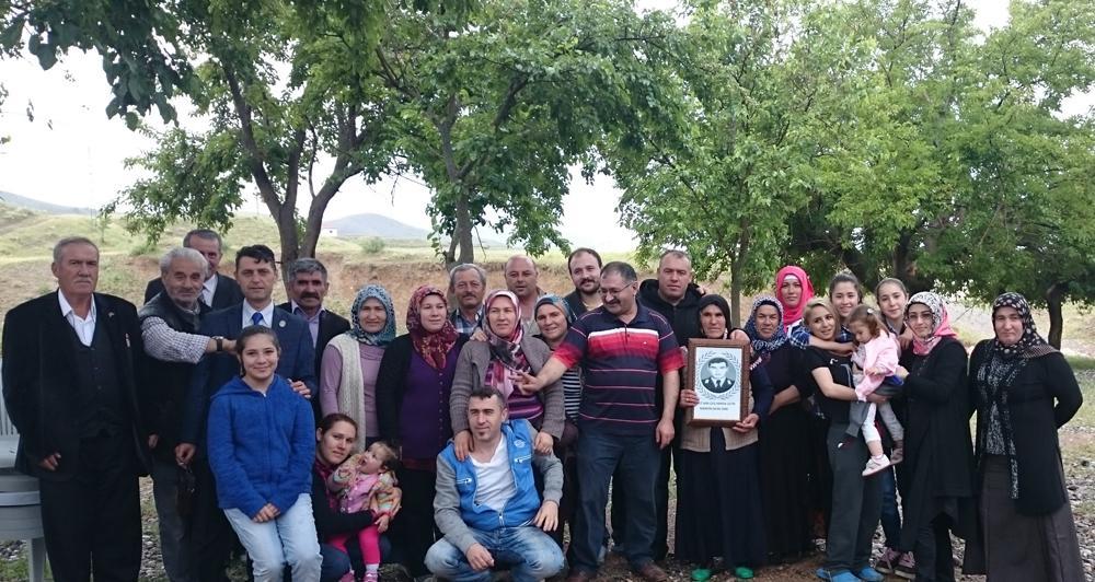 Şehit Hamza Çetin unutulmadı