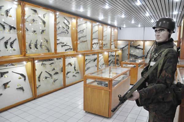 Silah Müzesine 2 bin 500 ziyaretçi