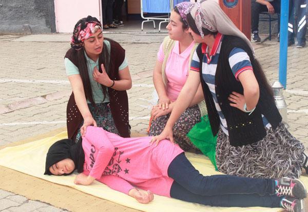 Sulakyurt'ta Hemşirelik Haftası