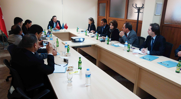 Tunus ve AHİKA yönetimi buluştu