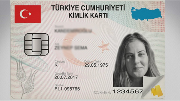 Yeni kimlik kartına yıllık kira