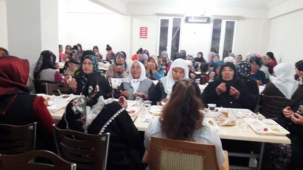 Çelebi'de iftar coşkusu