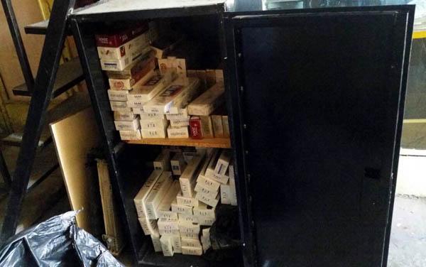 3 bin 549 kaçak sigara ele geçirildi