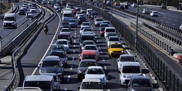 65 bin araç trafiğe kayıtlı