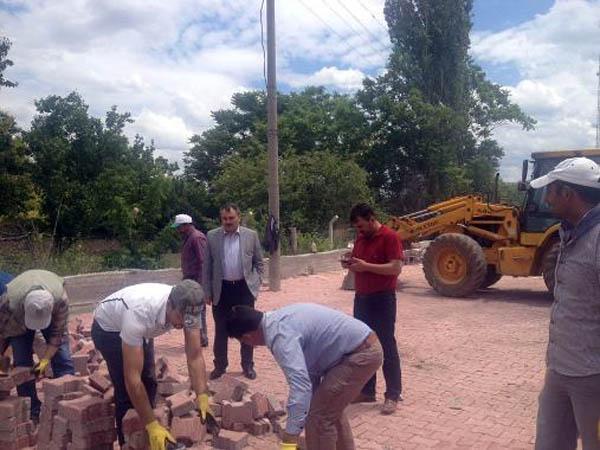 Balışeyh'te altyapı çalışmaları