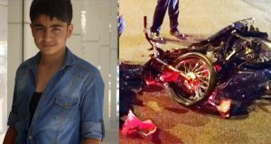 Genç çocuk kaza kurbanı