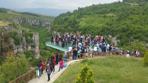 Keskin'li öğrenciler Safranbolu'yu gezdi