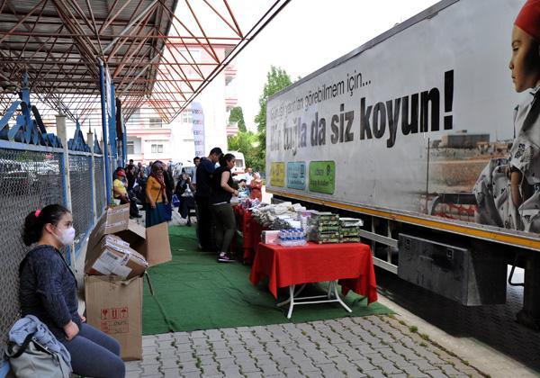 LÖSEV'in 'İyilikler Tırı' Kırıkkale'de