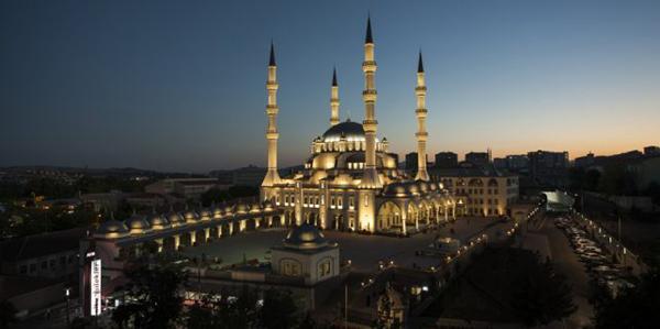 Nur Camii'ne Liyakat Ödülü verildi (1)