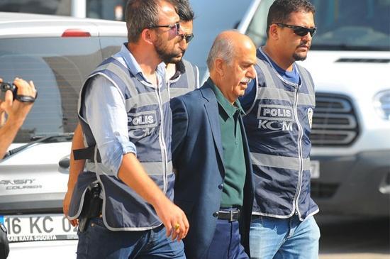 Eski Vali Harput Gözaltına Alındı