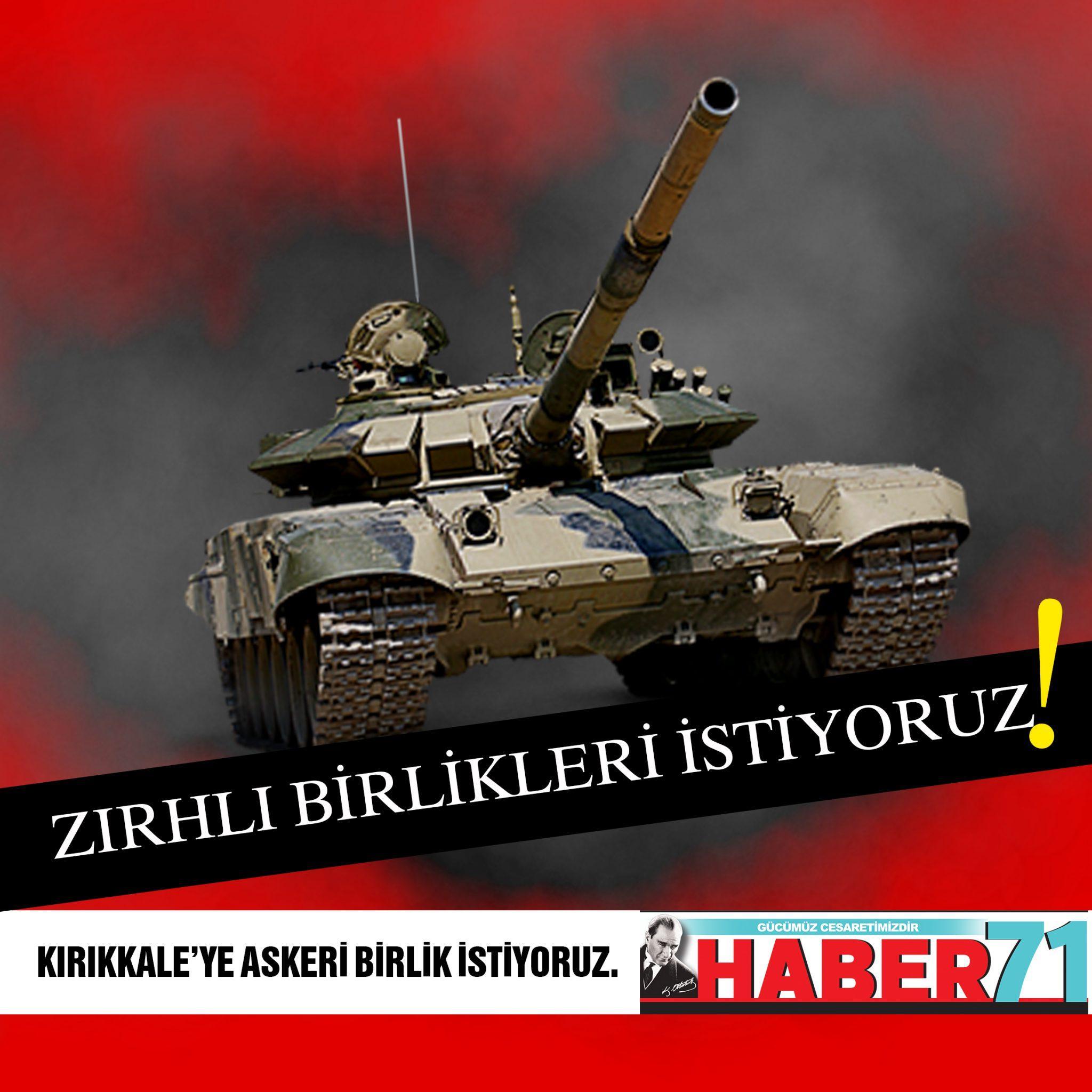 """KAMPANYAMIZA DESTEK BÜYÜYOR  """"KIRIKKALE'YE ASKERİ BİRLİK İSTİYORUZ"""""""