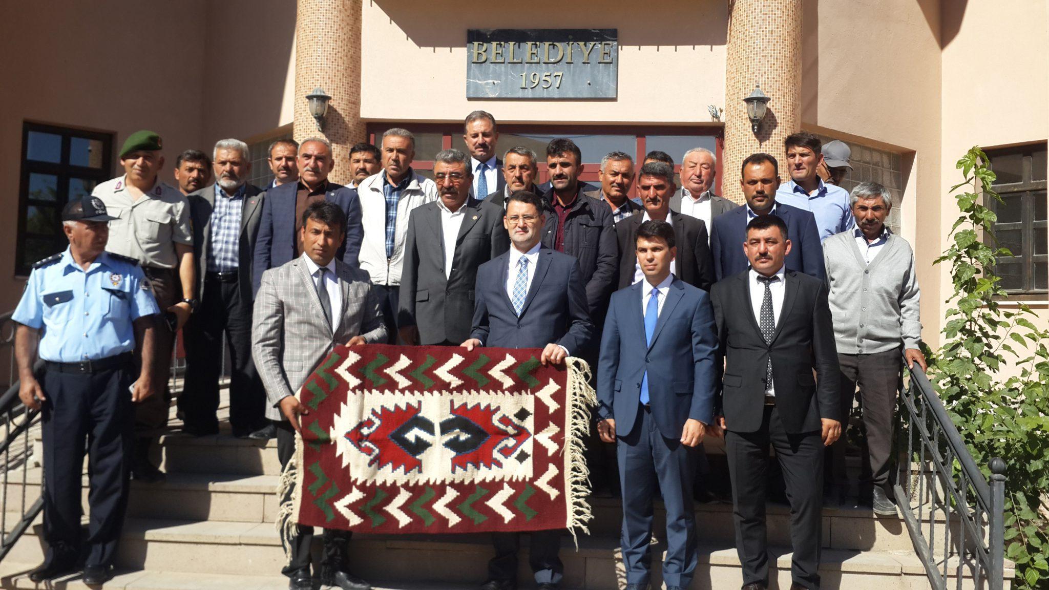 Vali Karakeçili'yi Ziyaret Etti