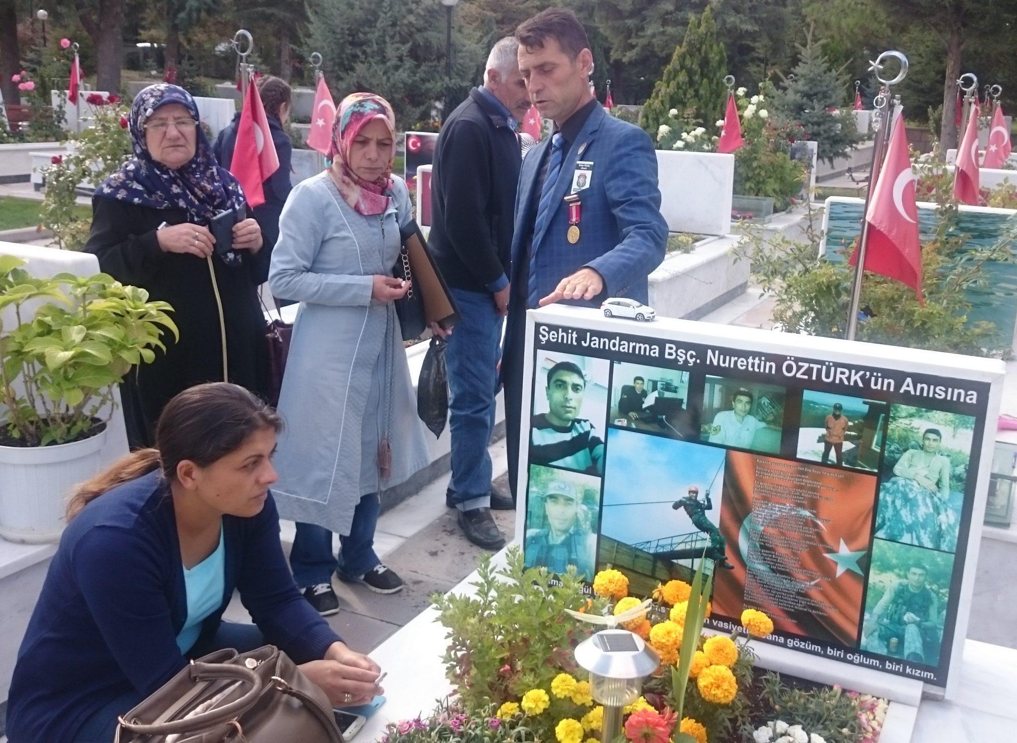 Şehit Erkut Babacan Kabri Başında Anıldı