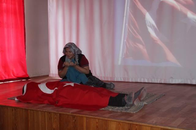 SULAKYURT ŞEHİTLERİ UNUTMADI