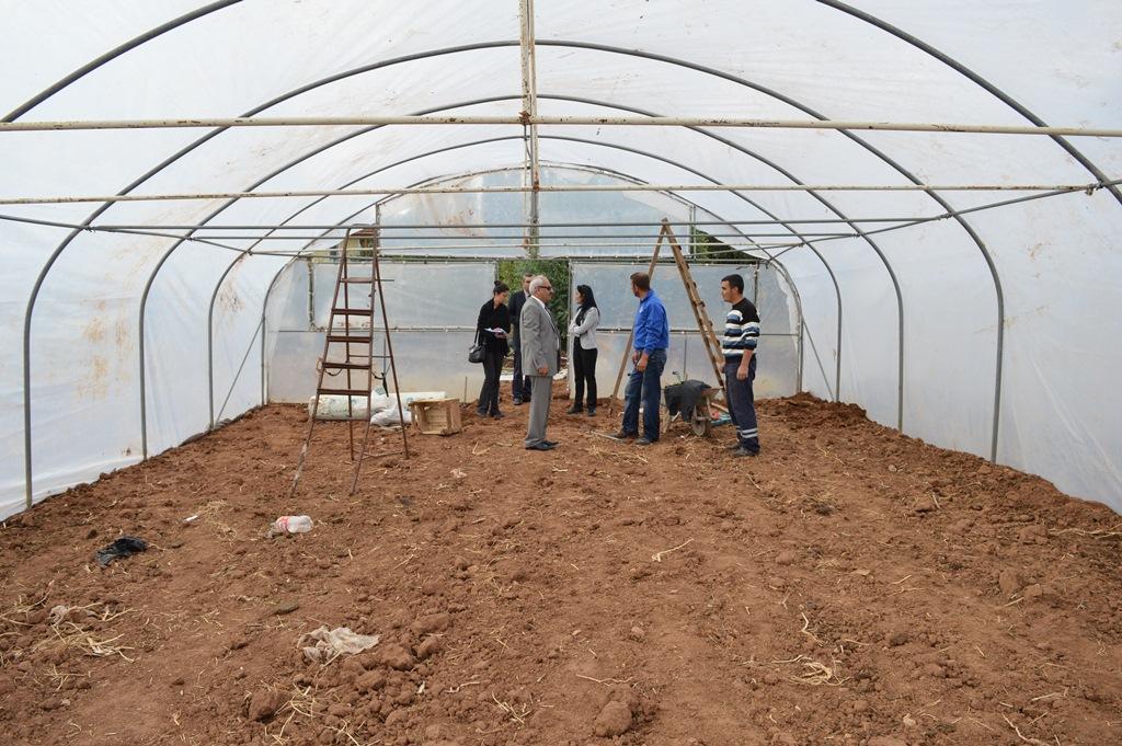 Genç Çiftçi Projelerinin Destekleniyor