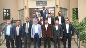 AK Parti Mersin Milletvekili Hacı Özkan, Karakeçili ilçesini ziyaret etti. ( Eyüp Avan - Anadolu Ajansı )