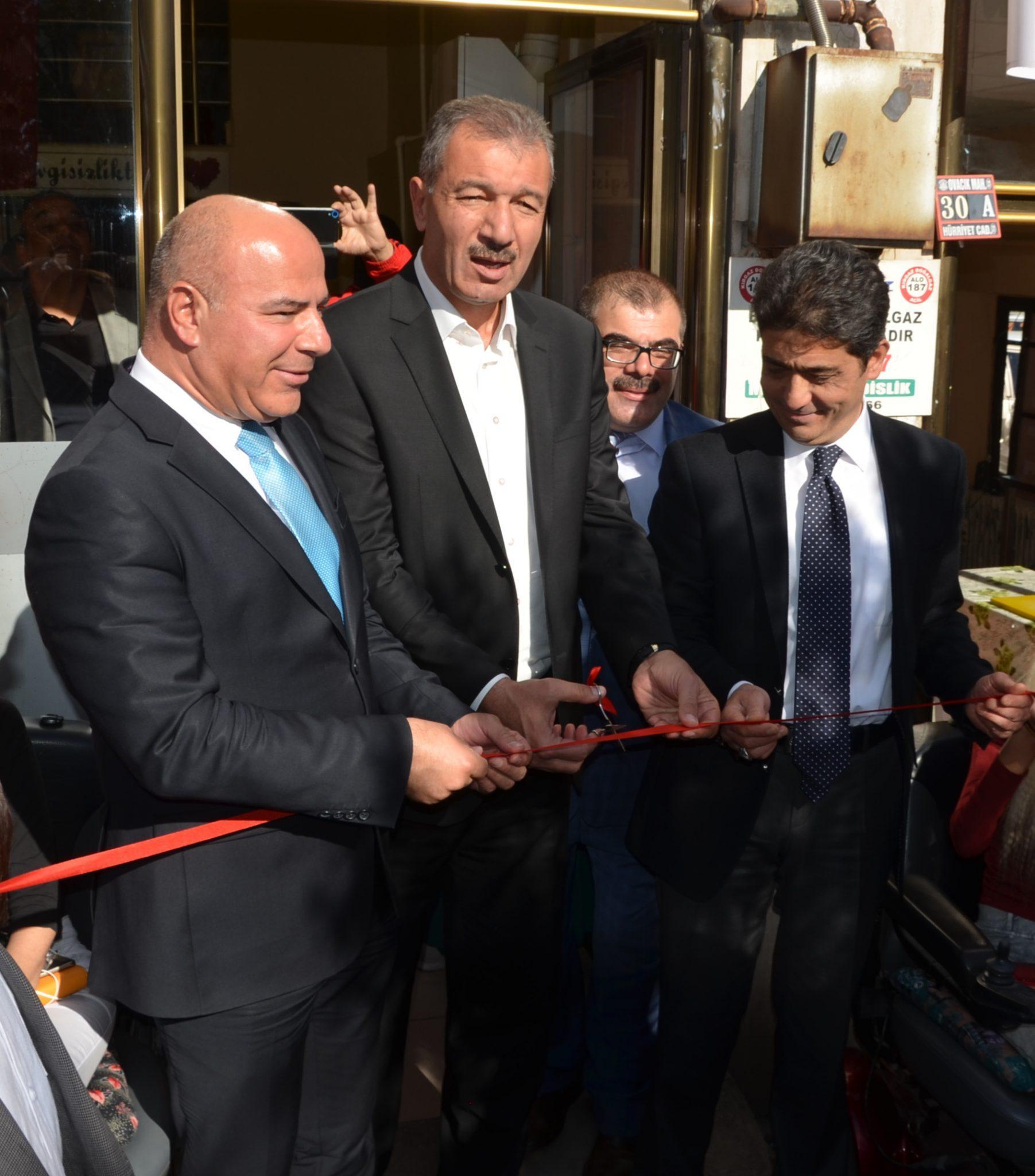 """Kırıkkale'de, """"Kırıkkale Tüm Engelliler ve Engelsiz Yaşamı Destekleme Derneği"""" açıldı"""