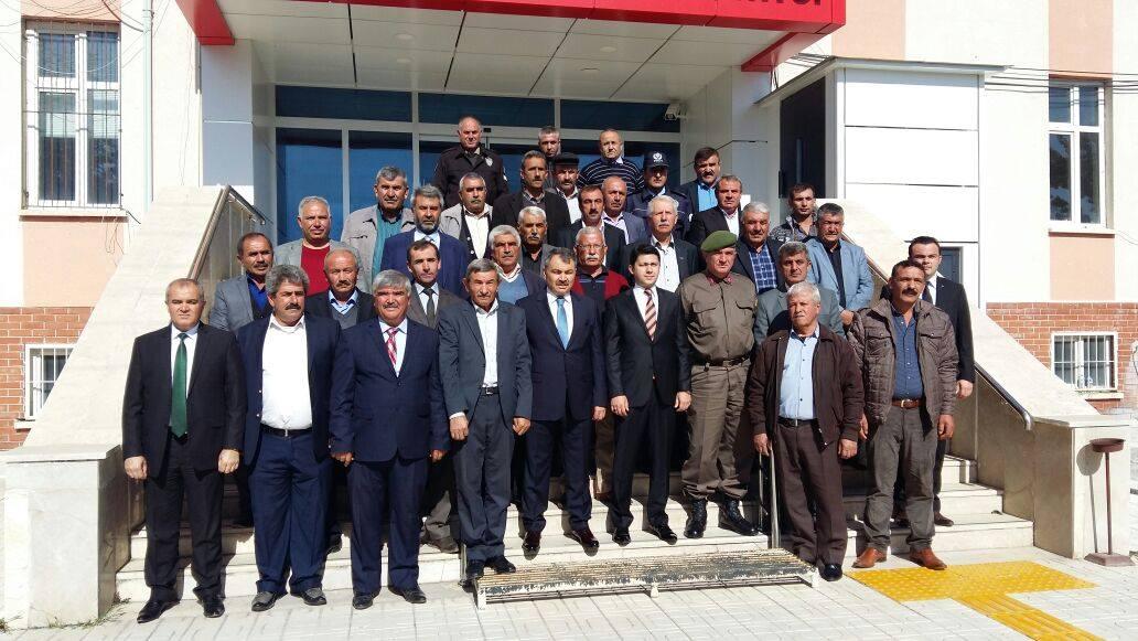 Balışeyh'te Muhtarlar Günü Kutlandı