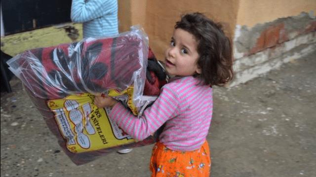 Suriye'ye Kış Yardımı
