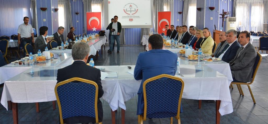 MEB Bilgilendirme Toplantısı Yaptı