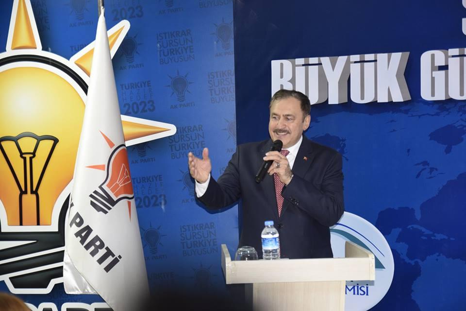 Bakan Eroğlu %63 Oy ve 15 Temmuz İçin Teşekkür Etti