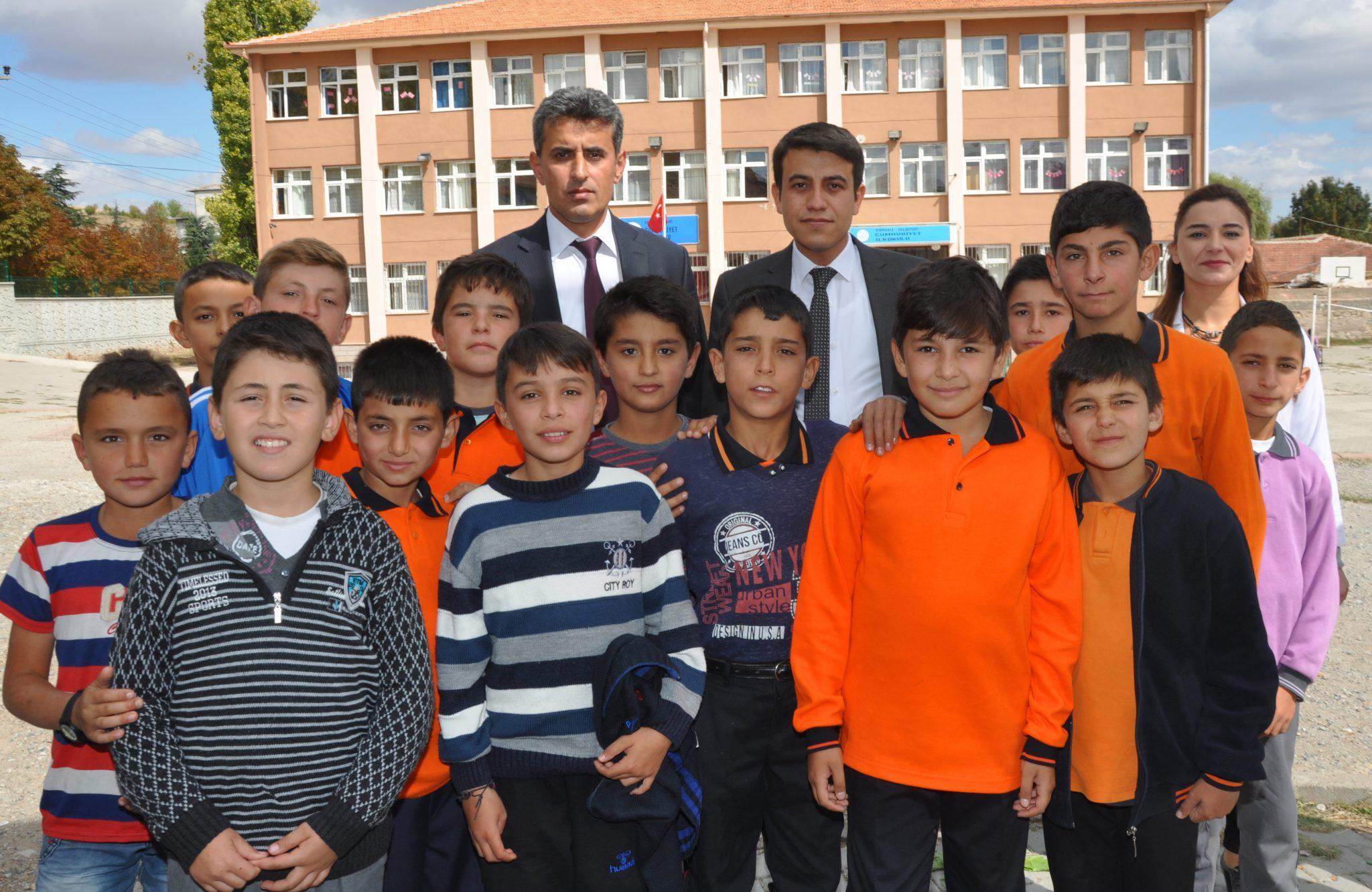 Sulakyurt'da Mevsimlik İşçi Çocuklarının Okul Sevinci