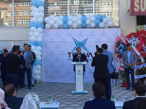 Baykal Yozgat TÜGVA Açılışına Katıldı