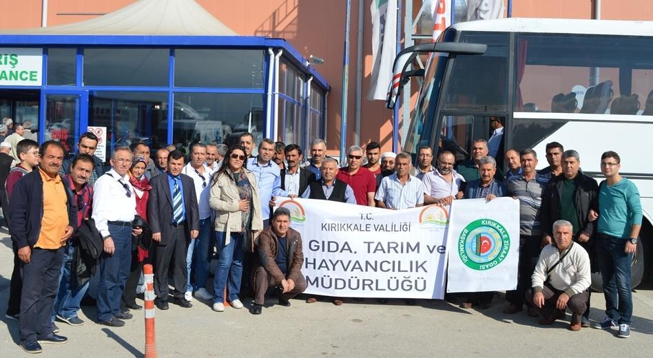 Bursa Tarım ve Hayvancılık Fuarına Kırıkkale'den Katılım