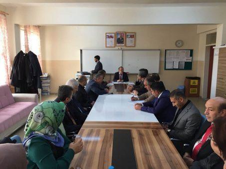 Keskin'de idare şube başkanları toplantısı
