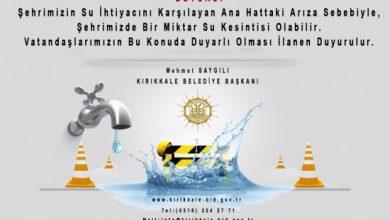 Photo of Kırıkkale Susuz Kaldı