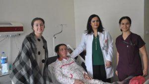 Kırıkkale'de yüz germe ameliyatı yapıldı