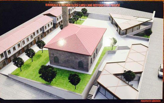 Keskin Çarşı Cami restore ediliyor 4 540x340 - Keskin Çarşı Cami restore ediliyor