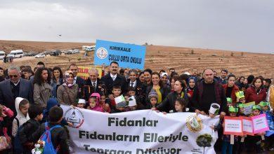 Photo of 5 bin fidan toprakla buluştu