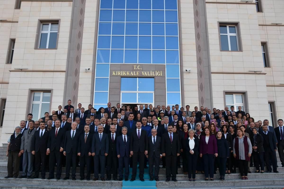 UĞURLAMA 1 - 'Gönüllerin Valisi' İlker Haktankaçmaz Kırıkkale'den Ayrıldı