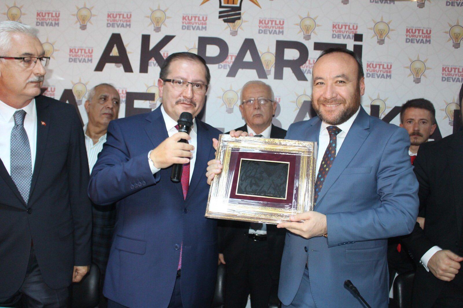 Bahattin Akyön Kırıkkale Belediye Başkan Aday Adaylığı İçin Ak Parti'den Başvurusunu Yaptı