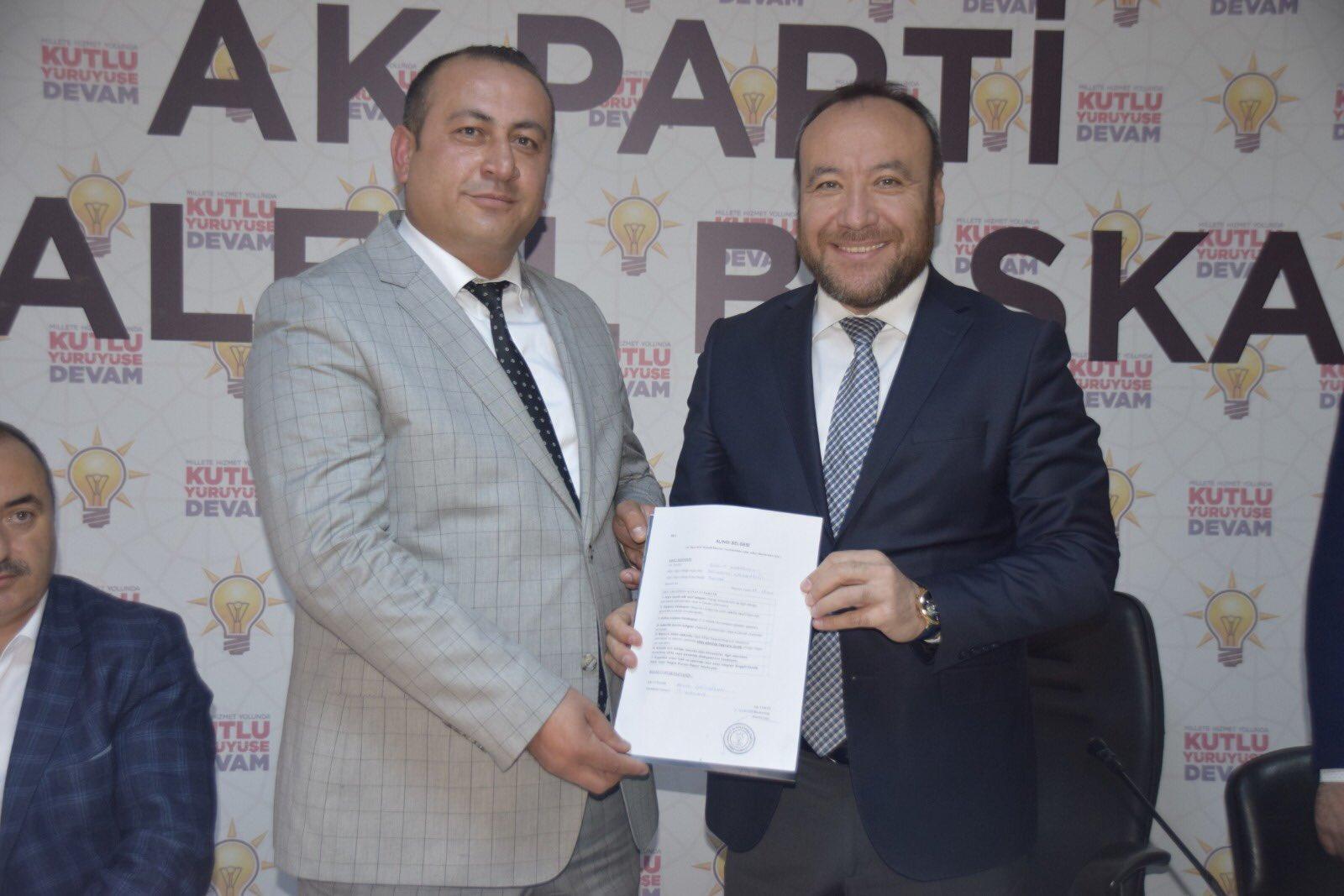 Davut Karabulut Hacılar Belediye Başkan Aday Adaylığı İçin Ak Parti'den Başvurusunu Yaptı