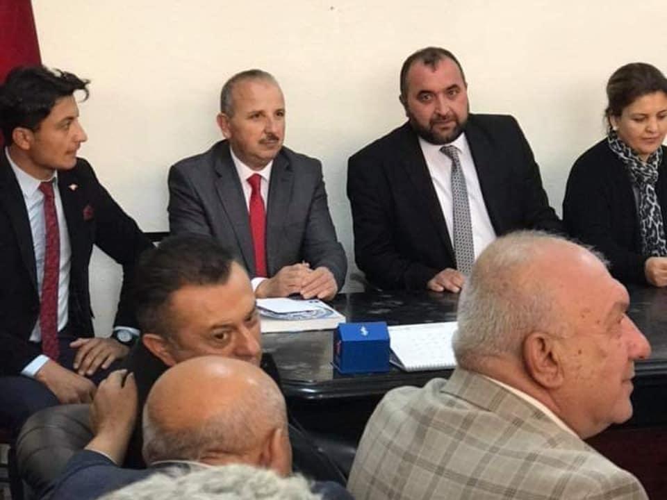 Ekmel Cönger Keskin Belediye Başkan Aday Adaylığı İçin Ak Parti'den Başvurusunu Yaptı