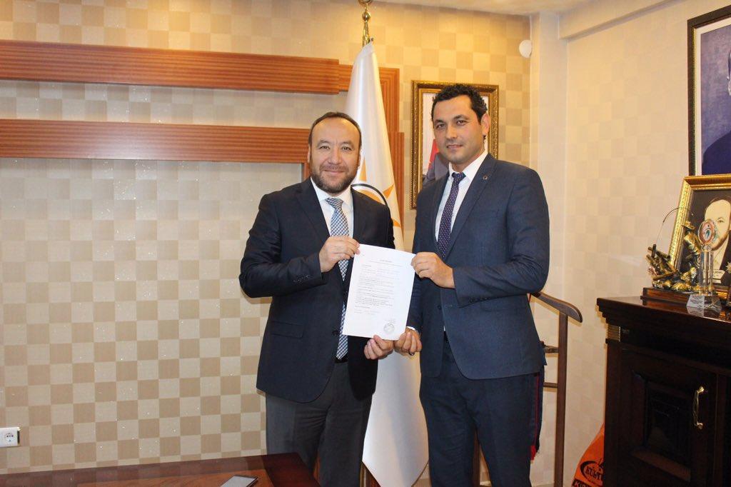Muhammed Ali Tekinay Yahşihan Belediye Başkan Aday Adaylığı İçin Ak Parti'den Başvurusunu Yaptı