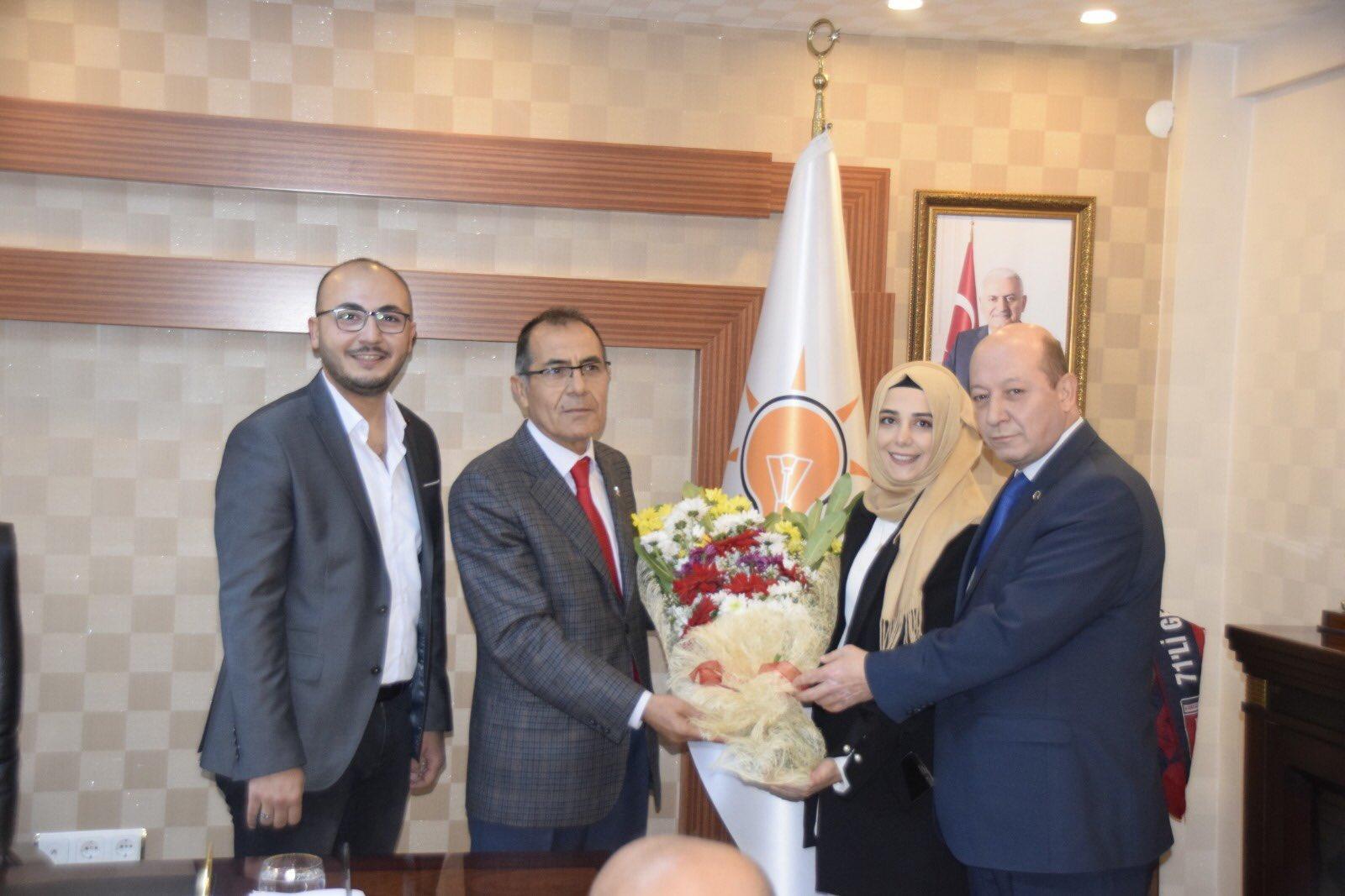 Osman Altıntaş Hacılar Belediye Başkan Aday Adaylığı İçin Ak Parti'den Başvurusunu Yaptı