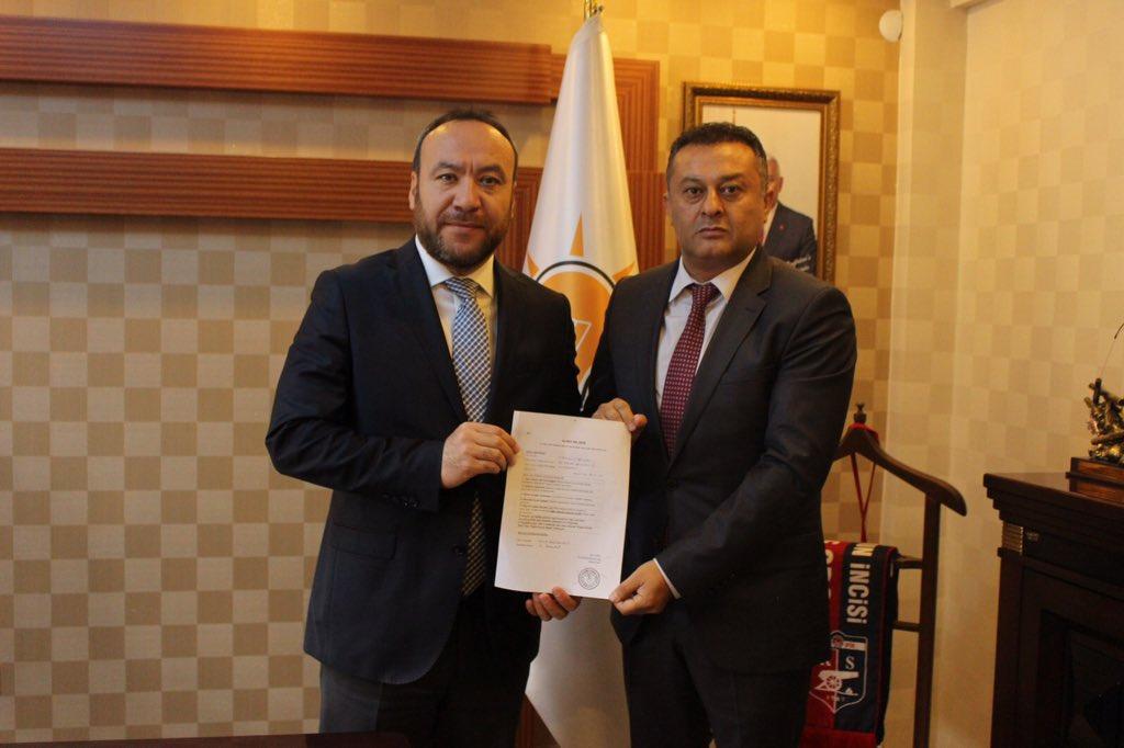 Timuçin Bağbaşı Kırıkkale Belediye Başkan Aday Adaylığı İçin Ak Parti'den Başvurusunu Yaptı