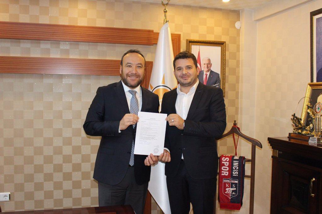 Tuncay Altan Yahşihan Belediye Başkan Aday Adaylığı İçin Ak Parti'den Başvurusunu Yaptı