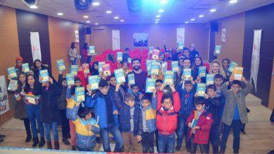 Photo of 'Bir Kitap Bir Çocuk, Bir Çocuk Bir Hayat' projesi başarıya ulaştı