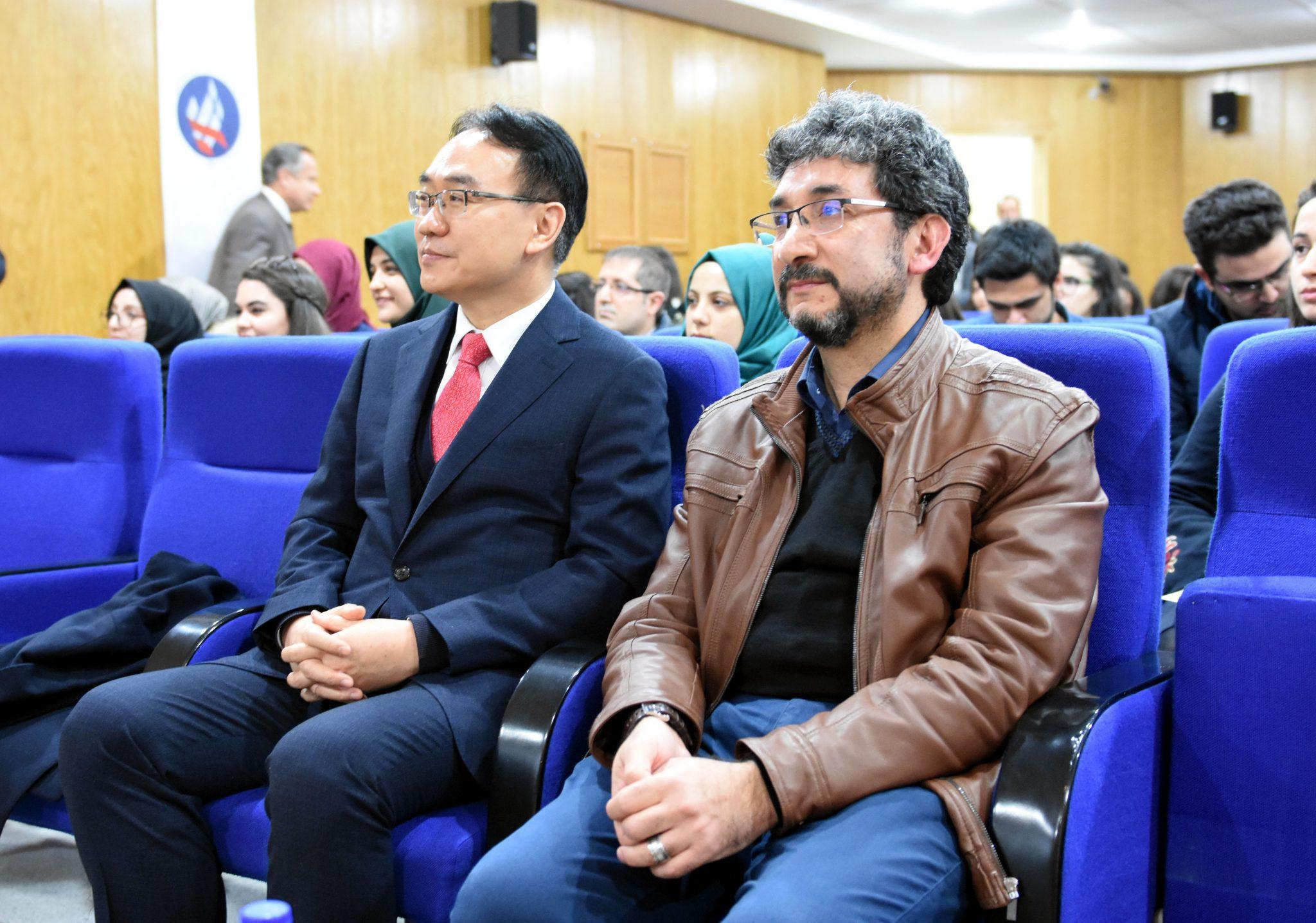 """Kırıkkalede Kore Türkiye İlişkileri semineri 2 - Kırıkkale'de """"Kore-Türkiye İlişkileri"""" semineri"""