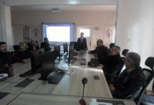 Kırıkkale il merkezinde belirlenen toplanma alanları ile ilgili mahalle muhtarlarını detaylı olarak bilgilendirmek için Afet ve Acil Durum (AFAD) Müdürlüğünde toplantı düzenlendi.