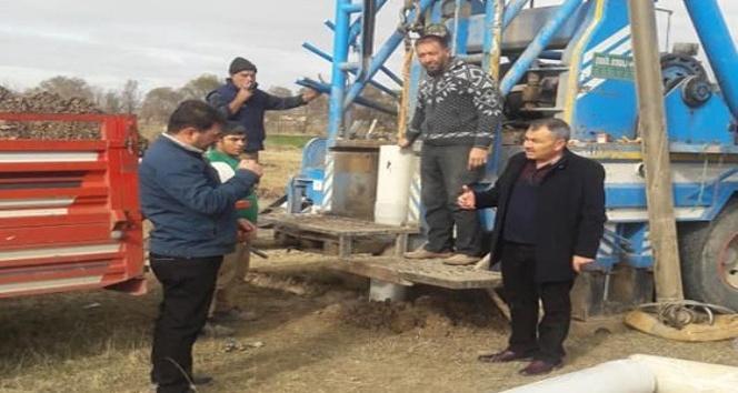 Balışeyh Belediyesi tarafından ilçenin içme suyuna takviye olarak su kaynakları kazandırmak için sondaj çalışması başlattı.