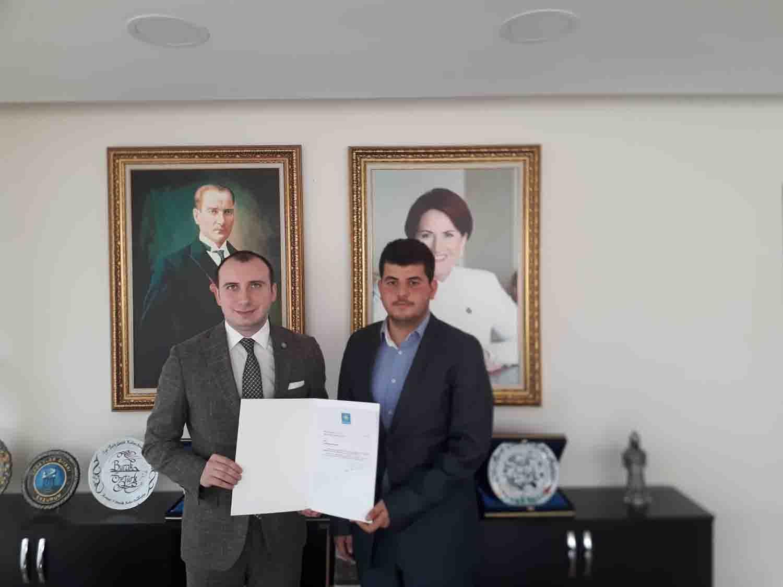 Kırıkkale Üniversitesi öğrencisi olan M.Melih Erdem İyi Parti Gençlik Kolları Kırıkkale İl Başkanlığına atandı.