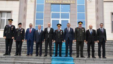 Çeşitli ziyaretlerde bulunmak üzere Kırıkkale'ye gelen Jandarma Genel Komutanı Orgeneral Arif Çetin Kırıkkale'de bir dizi ziyarette bulundu.
